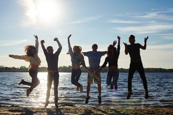 男子卒業旅行グループ