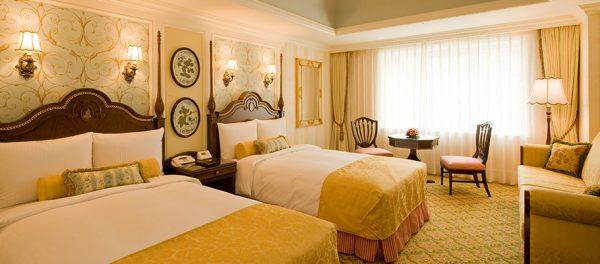 ディズニーランドホテルの客室