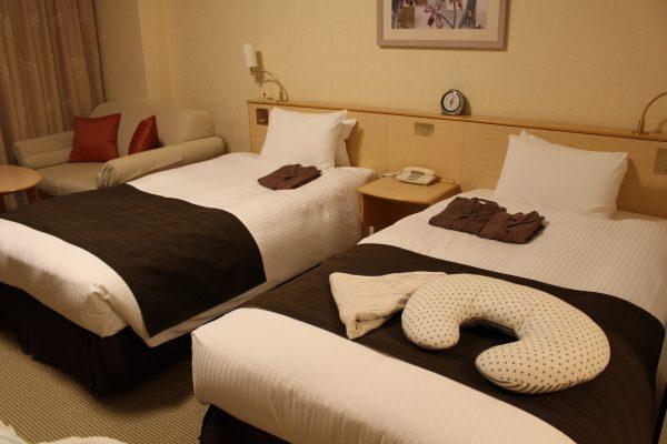 ホテルエミオン東京ベイ和洋室Bベッド