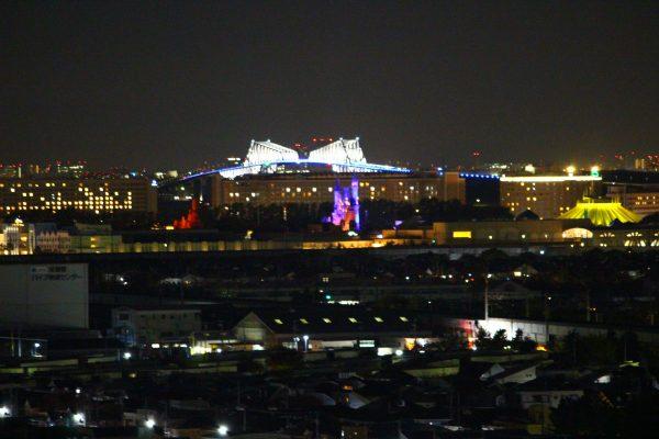ホテルエミオン東京ベイ和洋室B夜景