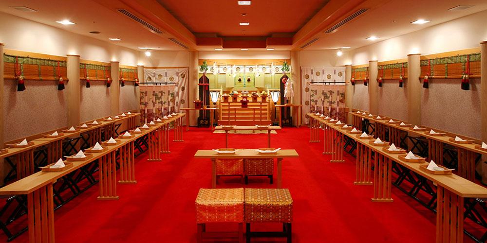 東京ベイ舞浜ホテルクラブリゾート 婚儀殿